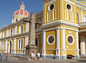 Tourist Activities in Nicaragua - Granada Cathedral