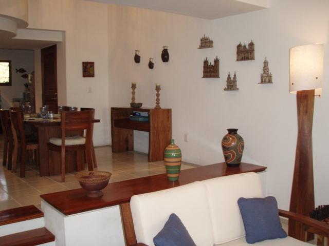Nicaragua Vacation Beach Rentals – Living Room